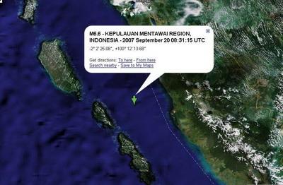 Gempa Mentawai